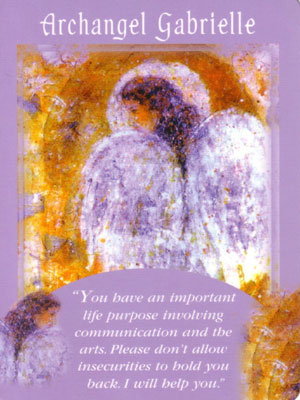 Archangel Gabrielle Angel Card Extended Description - Messages from Your Angels Oracle Cards by Doreen Virtue