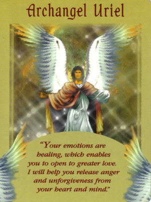 Archangel Uriel Angel Card Extended Description - Messages from Your Angels Oracle Cards by Doreen Virtue