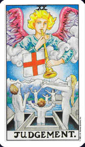Judgement - Rider Waite Tarot